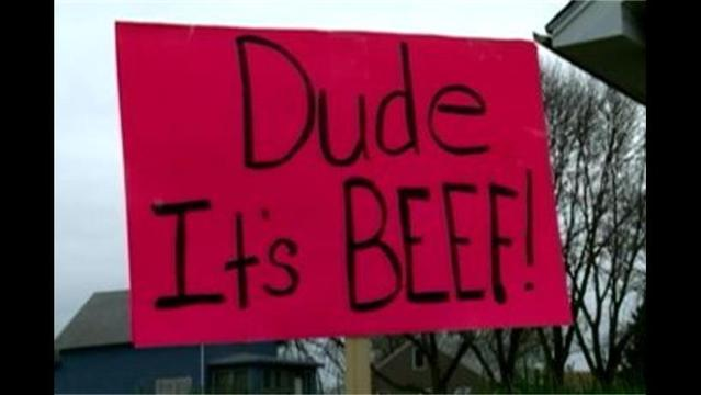 About the beef