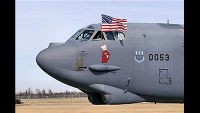 Barksdale B52 Flight