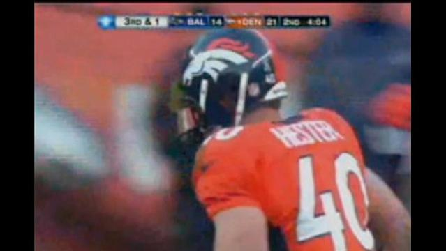 Hester, Broncos bow out in OT