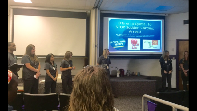 BPCC OTA students present research findings at NSU