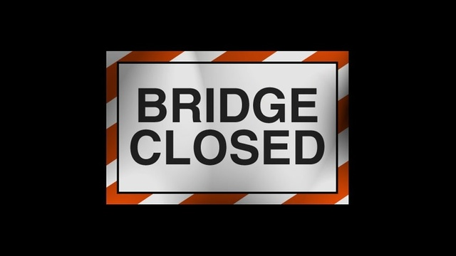 LA 527 bridge over Flat River is closed for eight weeks