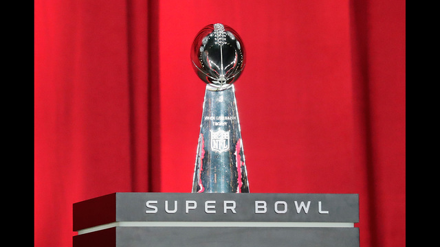 Gallery: Super Bowl Buid-Up Begins
