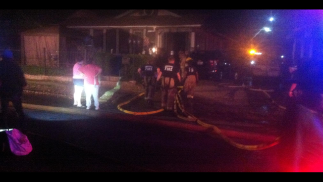 UPDATE: Fire kills puppy, displaces family of 8 and injures firefighter