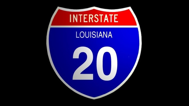 UPDATE: I-20 westbound back open in Bienville Parish