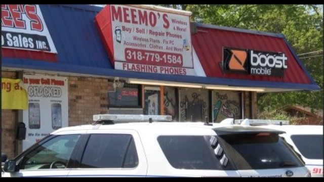 Shreveport cell phone store robbed