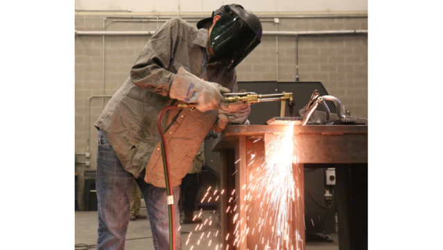 BPCC highlights careers in welding in observation of National Welding Month