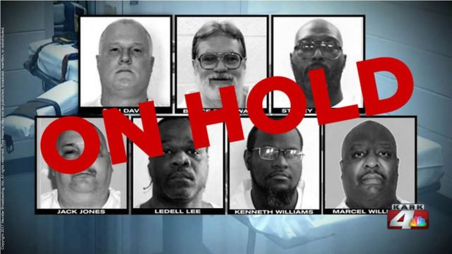 Arkansas court halts first two of eight planned April executions