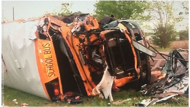 $25M school bus crash injury lawsuit moved to federal court