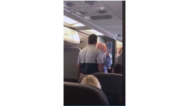 American Airlines flight attendant put on leave after clash with
