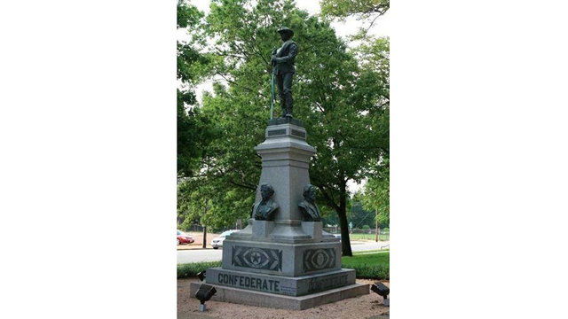 Confederate statue on East Texas courthouse lawn to stay after vote for relocation fails