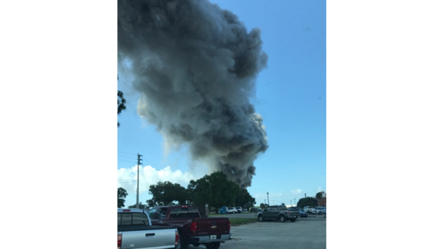 Explosion reported at Eglin Air Force Base near Pensacola