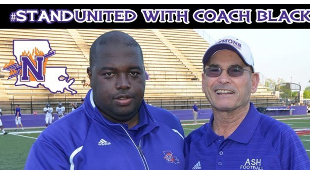 Stand United with Coach Black GoFundMe drive underway