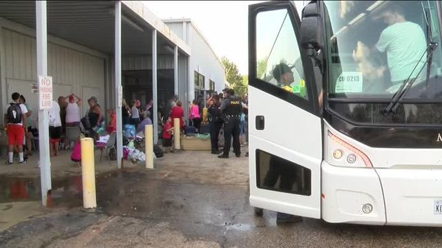 Harvey evacuees are returning home to Texas