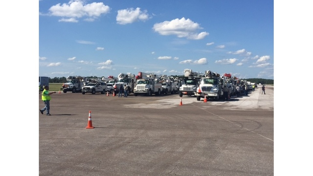 SWEPCO provides recovery assistance in Florida