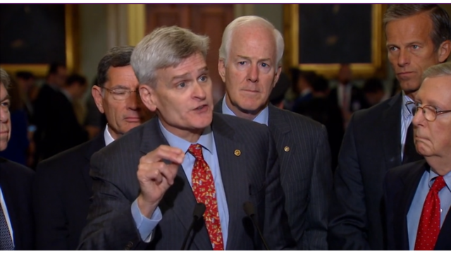 Edwards comes out against Cassidy/Graham plan