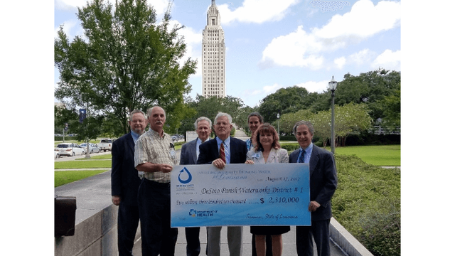 LDH awards $2.3M to DeSoto Parish for water system improvements