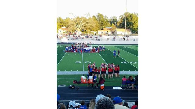 UPDATE: East Texas football player collapses on field