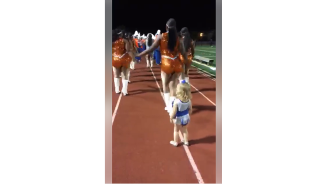 Video of little girl dancing with local band goes viral