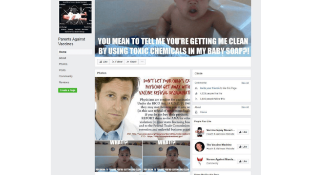 Anti-vax message gets meaner on social media