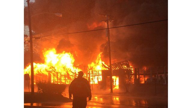 Fire destroys daycare center in Ruston