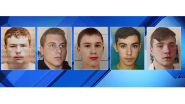 Five teens charged with murder for throwing rocks at driver
