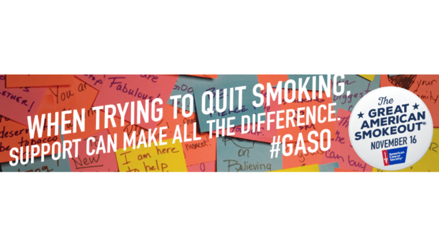 Celebrate the Great American Smokeout by giving up smoking