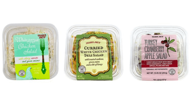 Trader Joe's Says Pre-Packaged Salads May Contain Glass, Hard Plastic