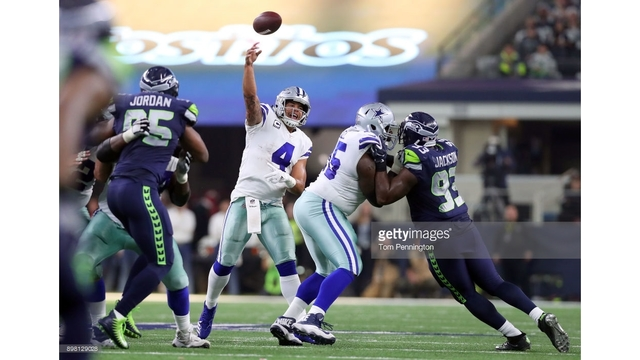 Cowboys fall to Seahawks; eliminated from playoffs