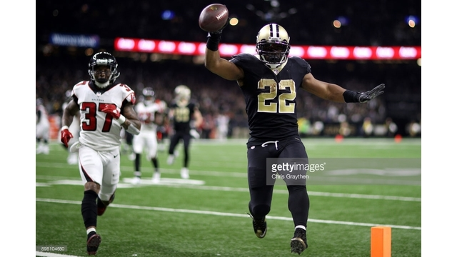 Saints earn spot in playoffs with victory over Falcons