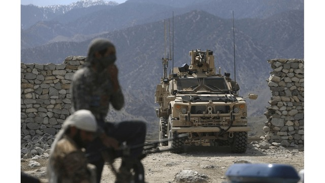 USA service member killed, four hurt in 'combat' in Afghanistan