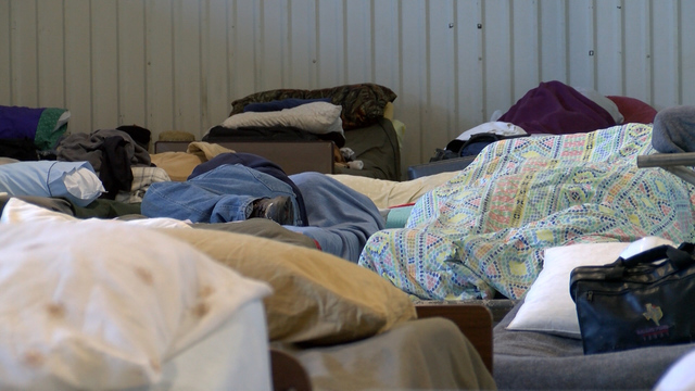 Homeless shelters see influx of those in need