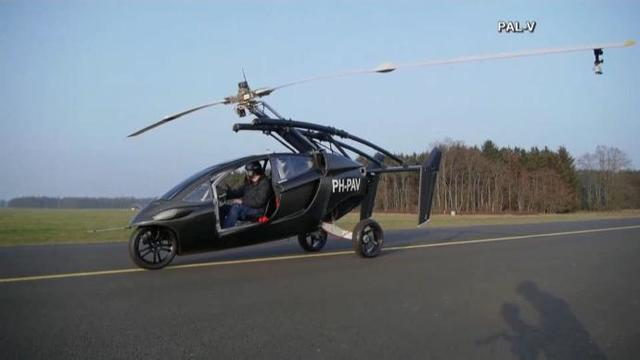 Got a Pilot's license? Pal-V Liberty flying vehicle debuts at Geneva