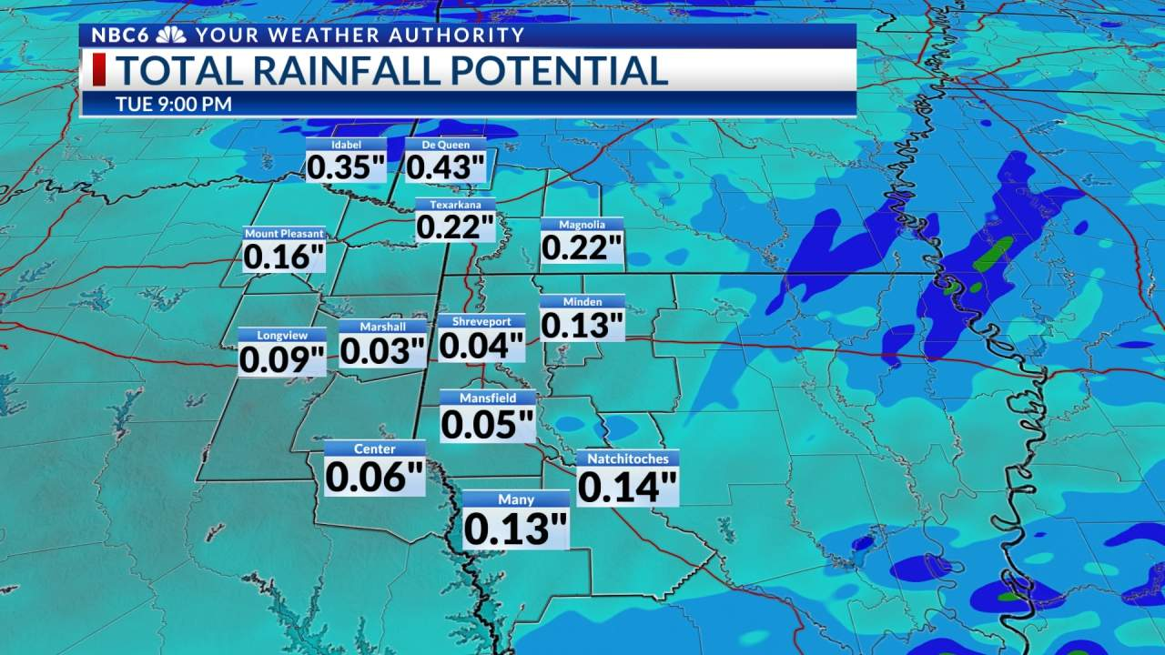 Futurecast Rain Potential