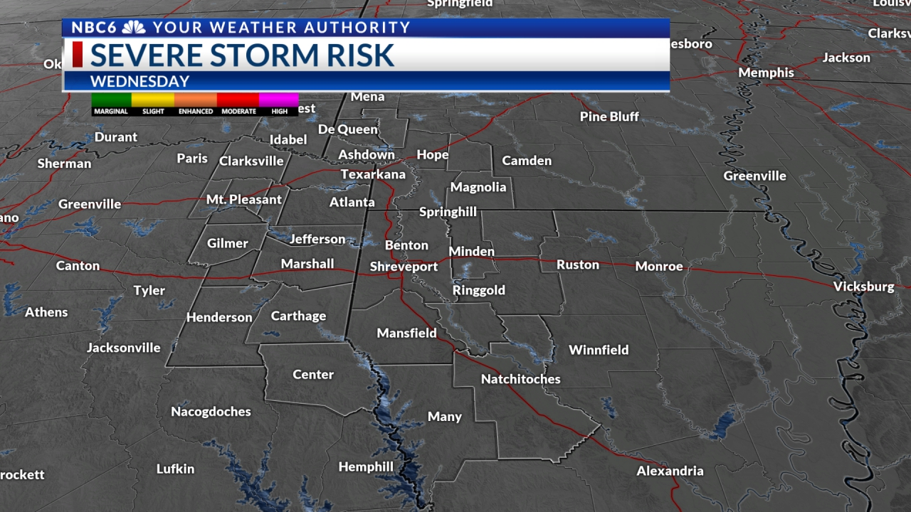Sever Weather Risk Day after Tomorrow