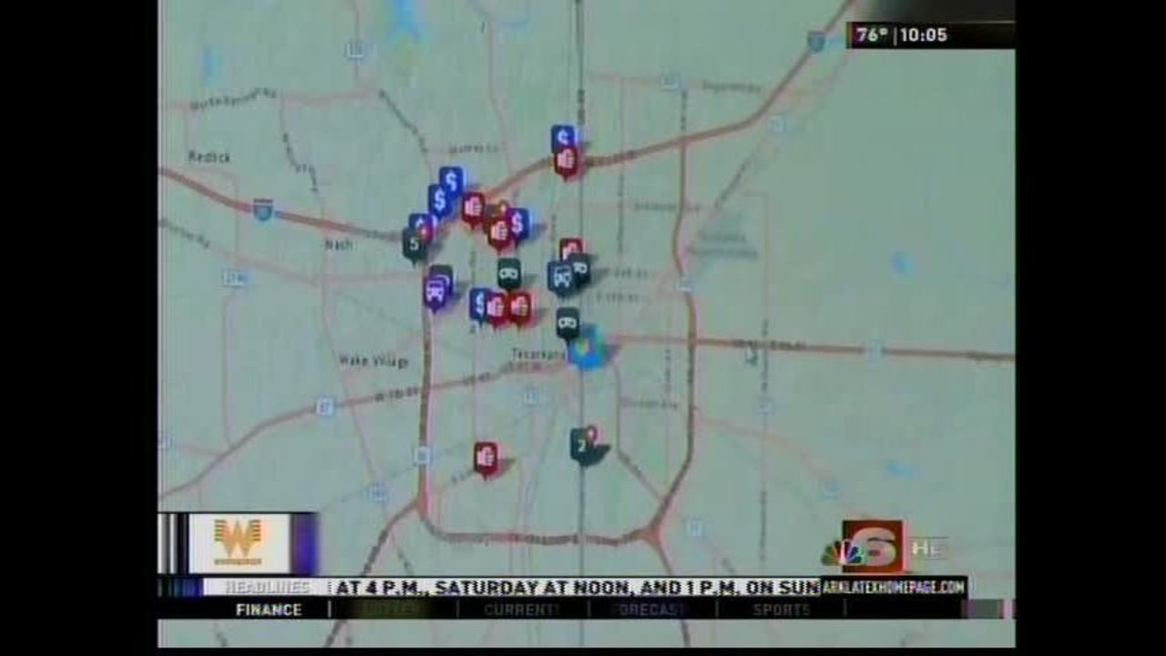 Texarkana, Tx Police Dept. offers new website that maps the city\'s crime
