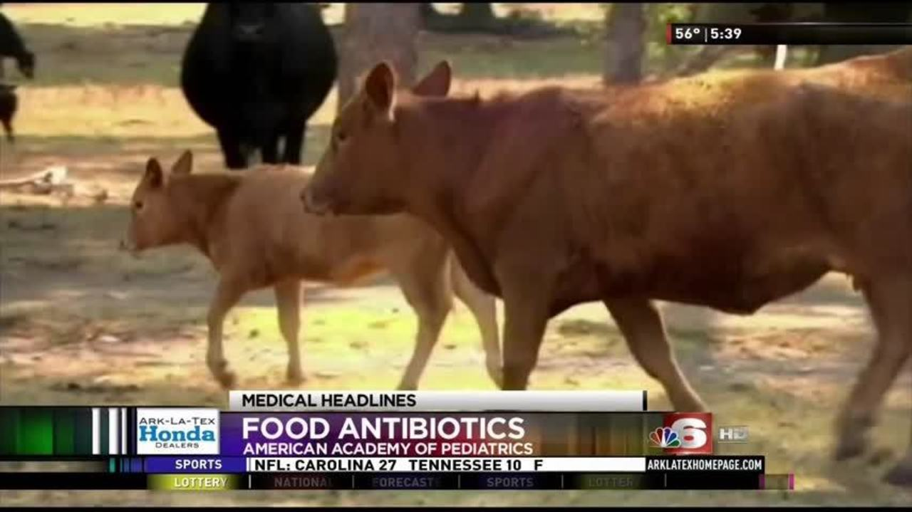 Antibiotics used in livestock may leave these drugs