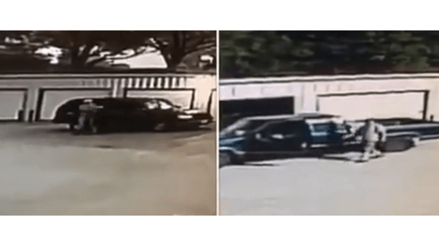 CAUGHT ON CAMERA: Burglars steal from East Texas storage building