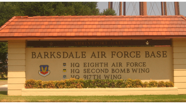 UPDATE: F-18 makes emergency landing at Barksdale AFB