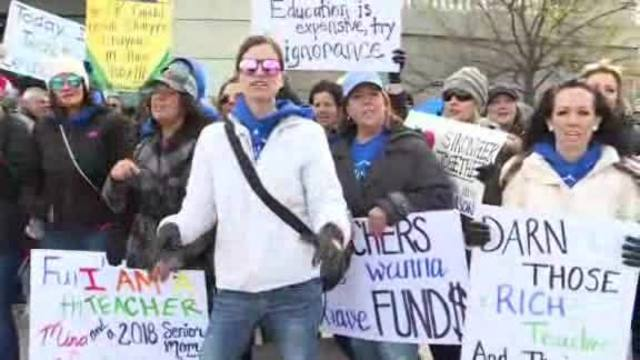 Oklahoma teachers fight for funding and the future
