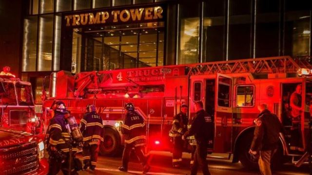 Killed, 4 Injured In Fire At Trump Tower In New York