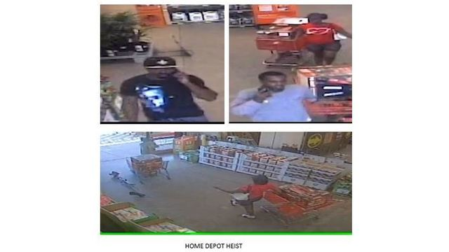 home depot heist spd seek help locating suspects - Is Home Depot Open On Christmas Day