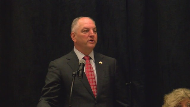 Louisiana Governor to kick off the legislative session