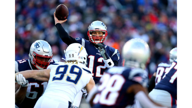 Hot Michel scores 3 TDs, Patriots roll past Chargers 41 28  free shipping