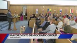 Perkins speaks to Democratic group