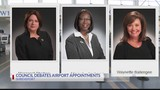 Council debates airport appointments