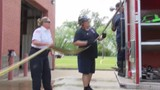Only female firefighter at southwest Arkansas fire department retires