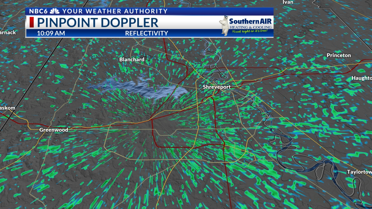 Pinpoint Doppler Shreveport-Bossier Metro
