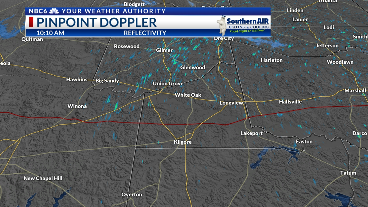 Pinpoint Doppler Gregg County
