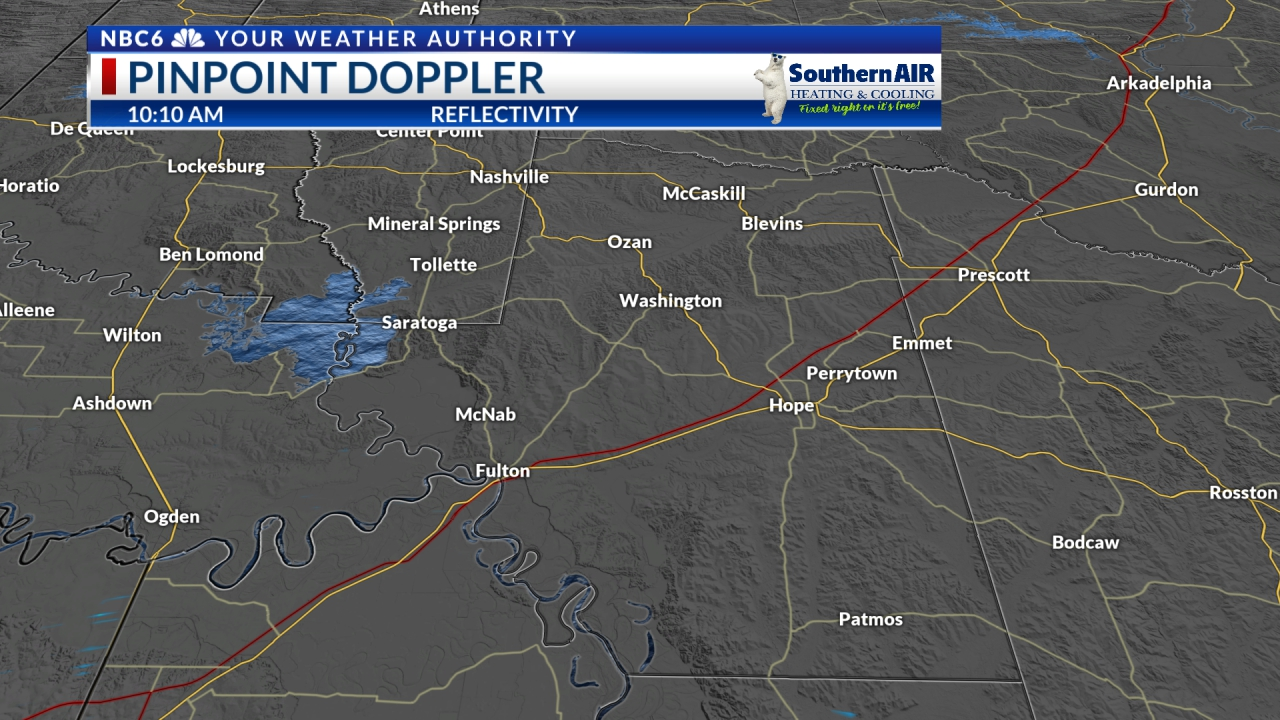 Pinpoint Doppler Hempstead County