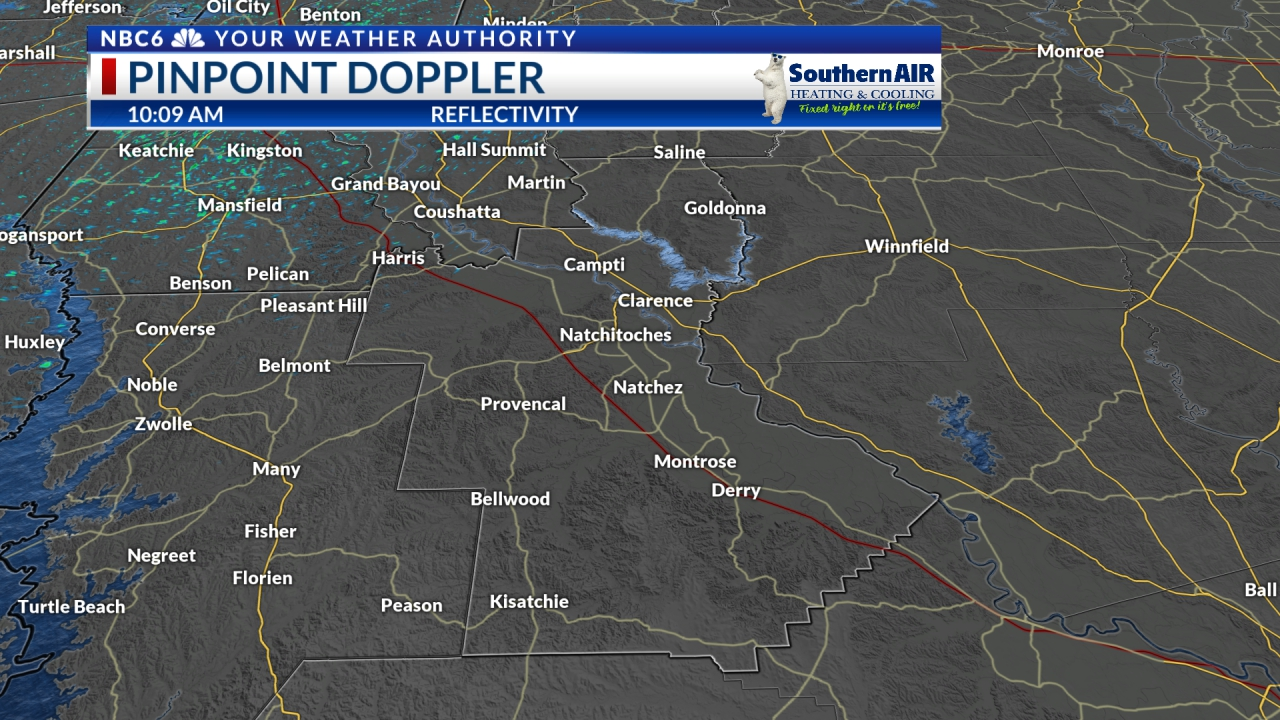 Pinpoint Doppler Natchitoches Parish